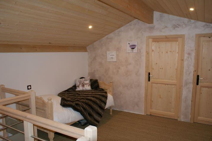 Chambre 2 aménageable en fonction des besoins (possibilité de 2 lits 90*190 ou lit bébé) 20M2