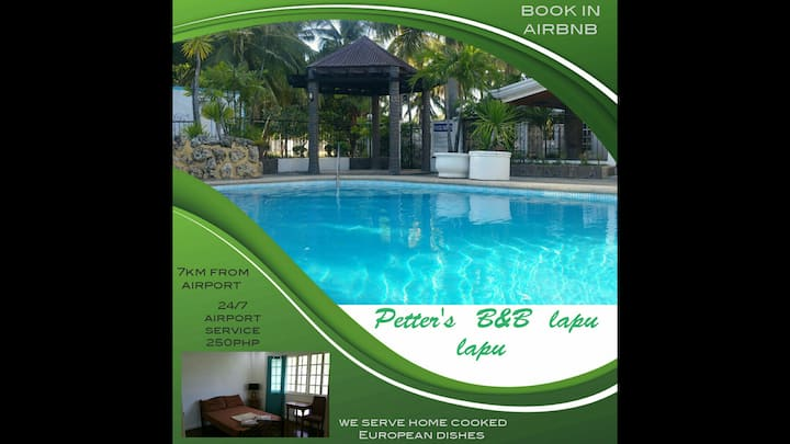 Petter's B&B. Big Pool. Airp. serv 7km to the B&B