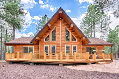 Lincoln Log Cabin, Tranquility close to Downtown
