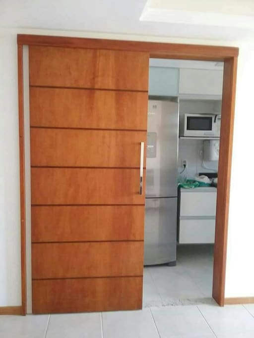 Entrada da cozinha