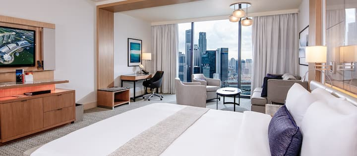 Marina Bay Sands hotel room staycations