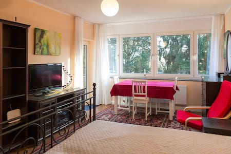 Large Room, desk/dining table, near UN Campus - Bonn