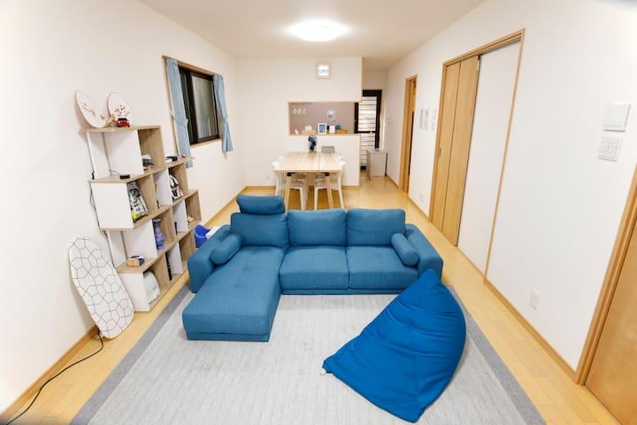 Spacious & Modern Inn ~Close to Nijo Castle~