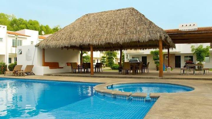 Casa completa Residencial Flamingos, Bucerias Nay.