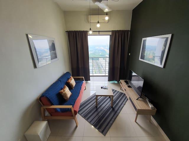 【NEW! Balcony】D'Pulze Suites Cyberjaya【Netflix!】