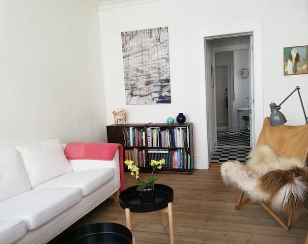 Charming flat in lovely area of Copenhagen