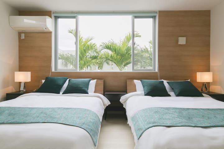 ★Luxury Villa★Airport, beach10min Good location