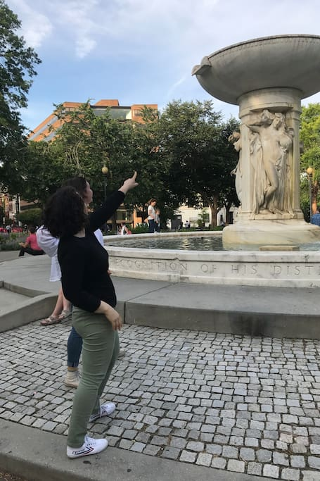 Learn why Dupont Circle has a fountain.