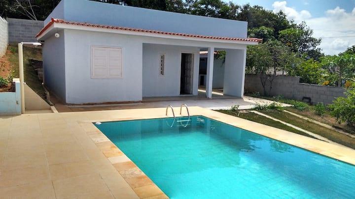 Casa com piscina e churrasqueira em Saquarema