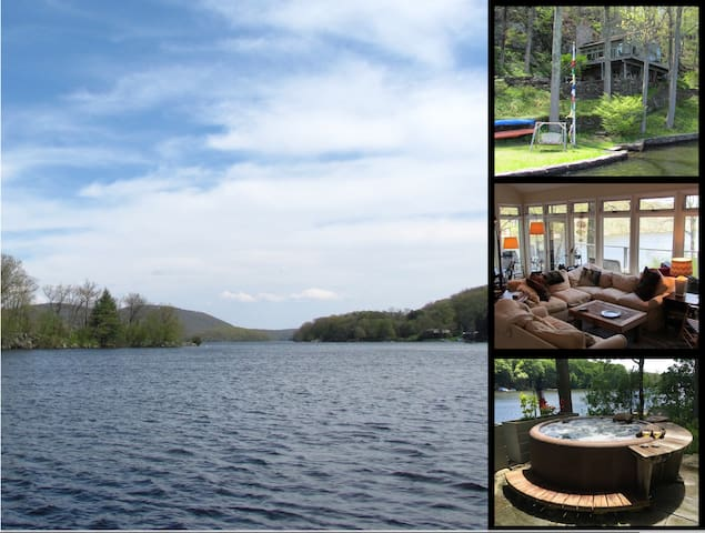 Hemlock Point, Candlewood Lake- Direct waterfront