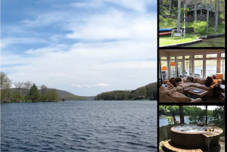 Hemlock Point, Candlewood Lake- Direct waterfront - Huis