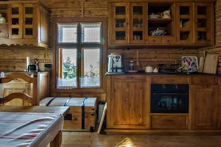 Wooden Cabin Zwierzówka