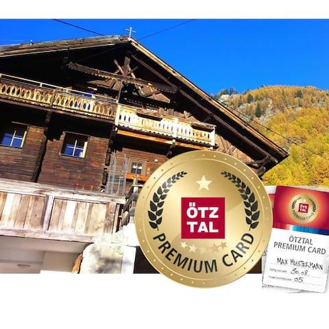 Chalet s'Tyrolia/Sölden -Tradition trifft Moderne