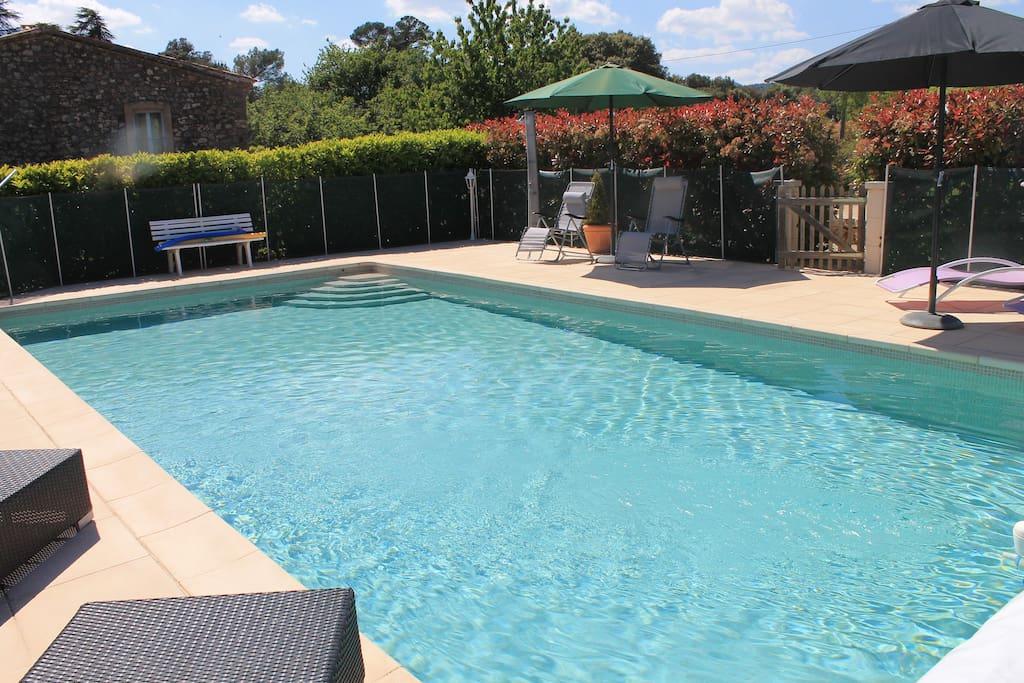 Le figuier g te proche des gorges du verdon for Location maison avec piscine gorges du verdon