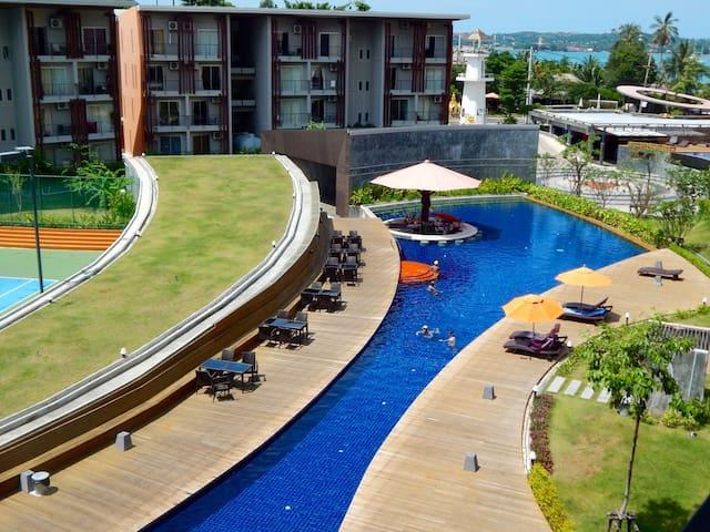 Clean Comfy Resort Apt, Fast WIFI, Kitchen, Washer
