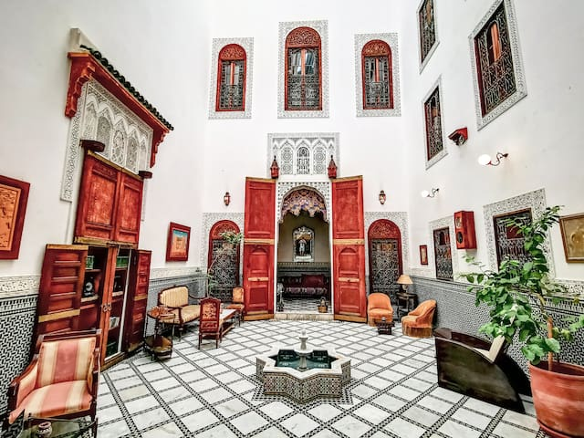 Charming Single Room in the Heart of Fez -B&B WIFI