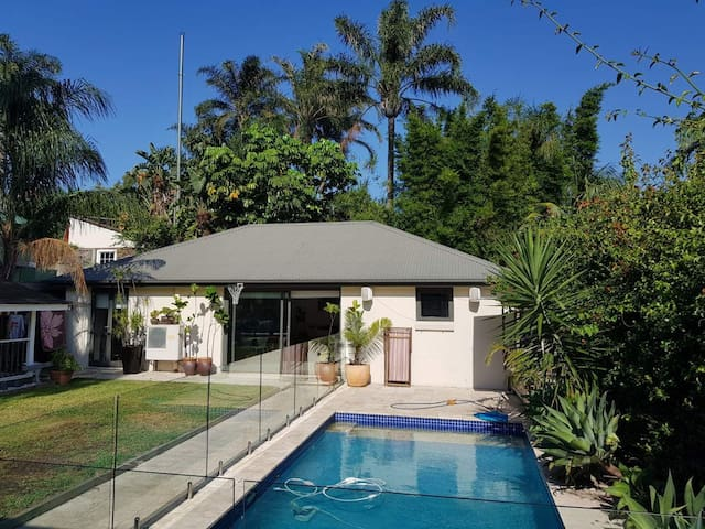 Poolside Garden House