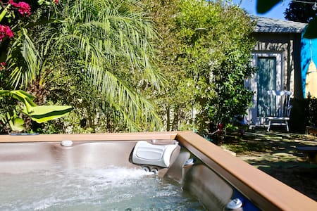 PRIVATE ROOM + JACUZZI  minutes to VENICE BEACH - Los Ángeles