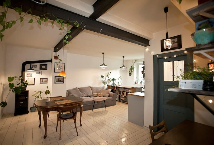 Cozy apartment on the Big Island, Wrocław - Wrocław - Huoneisto