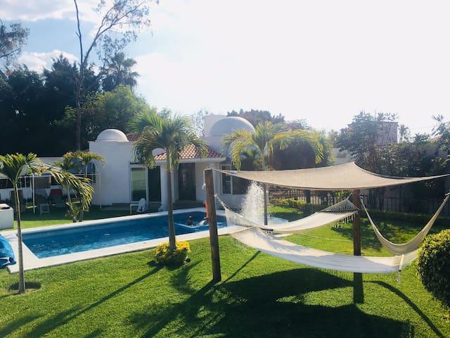 Casa Laureles Oaxtepec/ 5 minSix Flags Harbor/WiFi