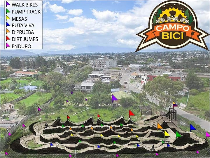 Campo Bici Bike House!! 20min away from airport!!