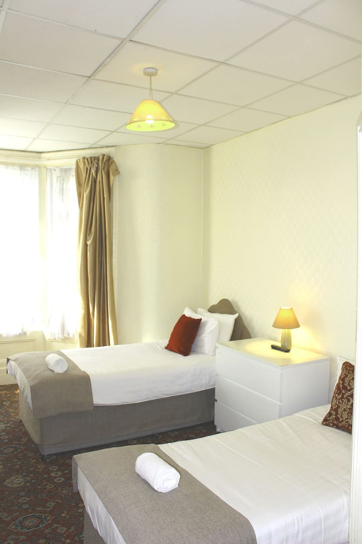 Twin room in Bed and breakfast hotel