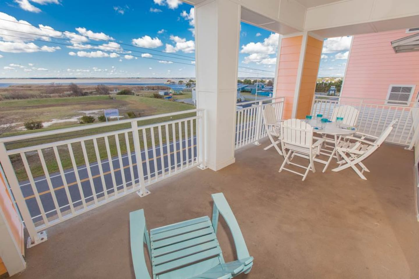 Large Balcony with Sunset View of Backbay