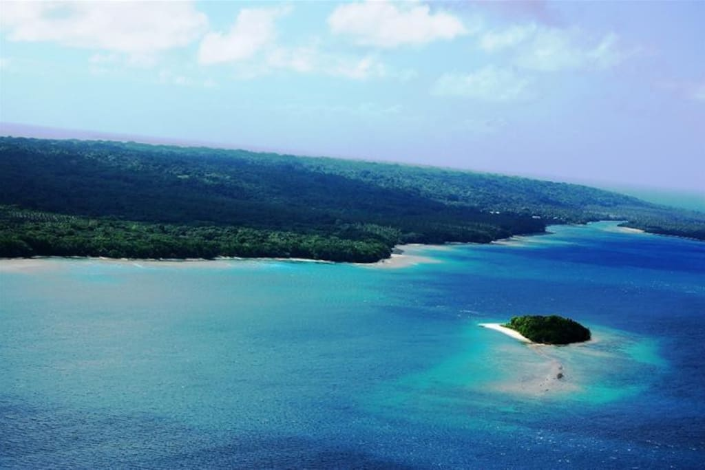Private Island 20 minutes from the international Airport