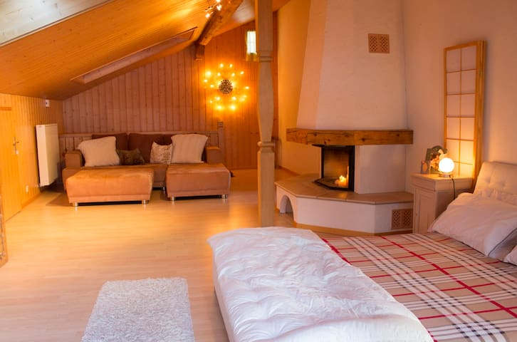 Chalet Casa Rose with Beautiful Garden - Grindelwald - Casa