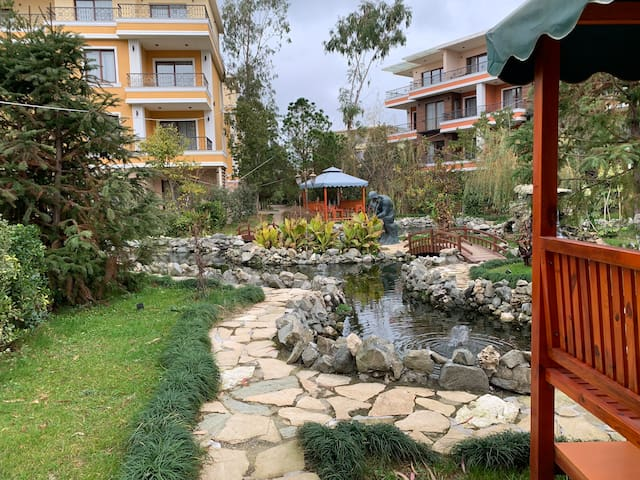 2 room apartment by the beach within 5* SPA-resort