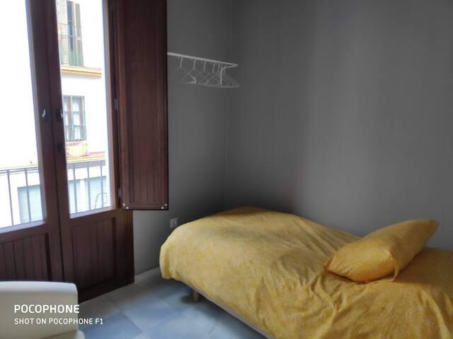 Balcón dormitorio pequeño