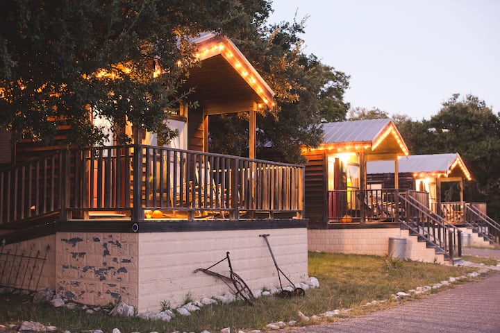 Cabins at Red Rock: Hill Country Cabin - 1 of 6