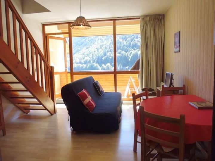 Appartement avec chambre  6 personnes - Résidence Ours - FR-1-400-34