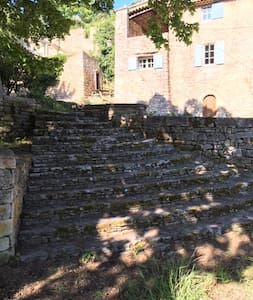Les Grottes in Sivergues - Vaucluse - Dom