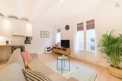 Stylish 1Bed Apartment in Raval