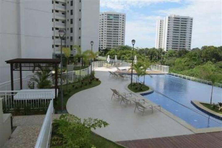 Suite no Le Parc Residential Resort - Salvador - Pis