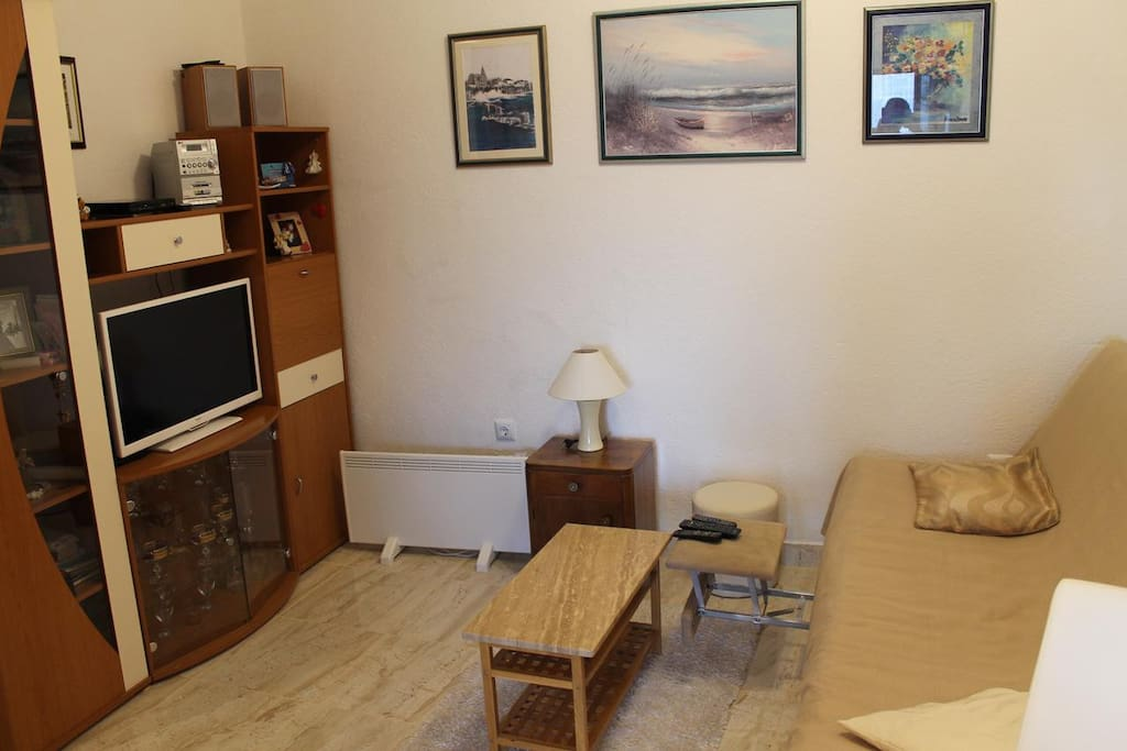 Living room, Surface: 10 m²