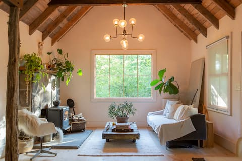 Modern Rustic Catskills Cottage