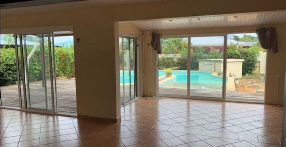Suite parentale - Villa p160m2 - accès plage