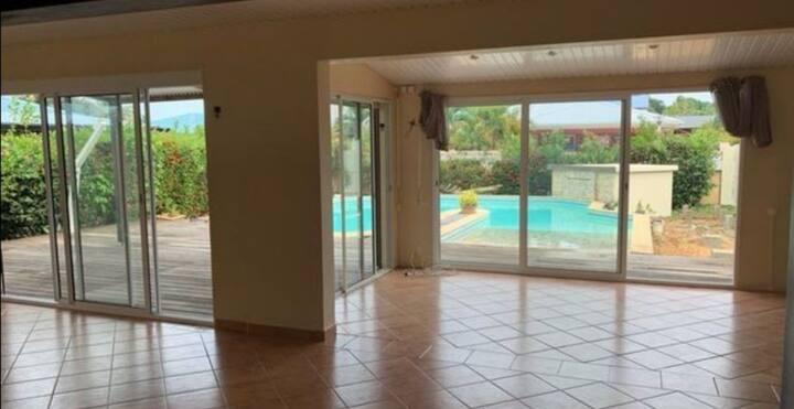 Chambre privée - Villa 160m2 - accès plage