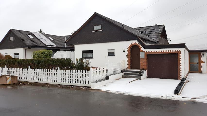 Souterrain Wohnung in Waldeck am Edersee - Waldeck - Rumah
