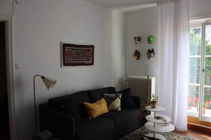 Charming early 19 cent. Sodermalm flat, top floor!