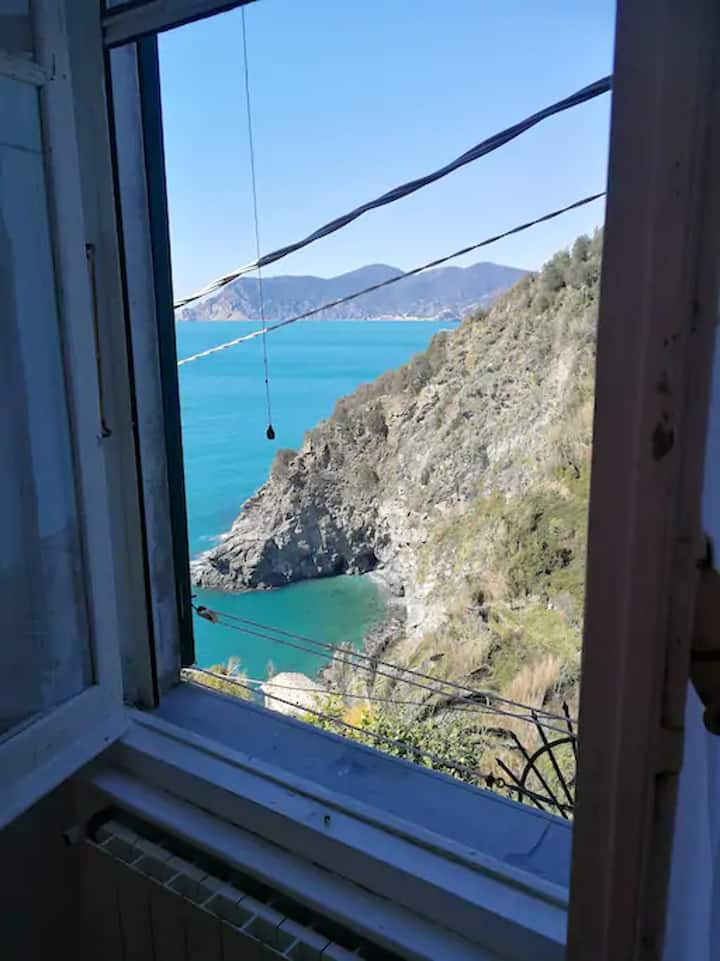 Apartment with one bedroom in Corniglia, with WiFi