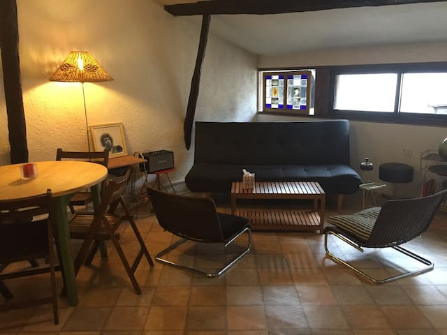 Appartement cosy, centre historique - Figeac - Lägenhet