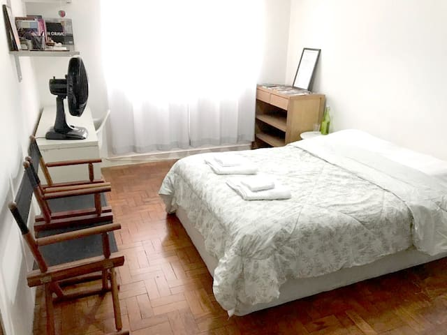 Private Room on Paulista Avenue- Very Well Located