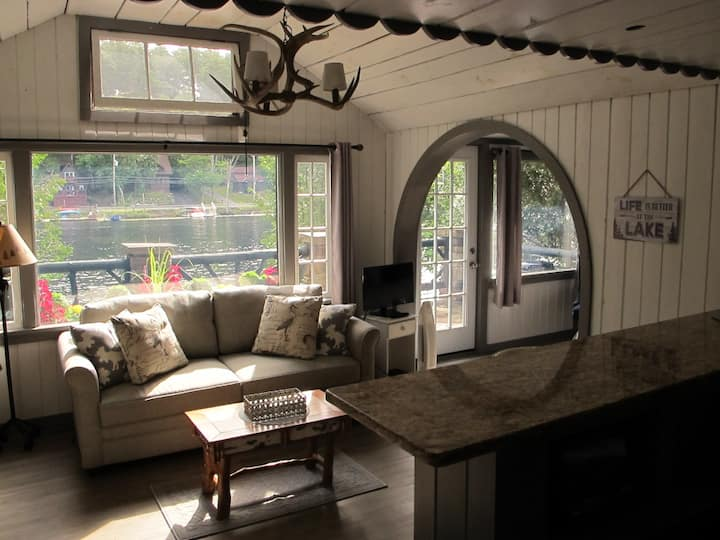 Marcy Cabin on  Saranac Lake Waterfront