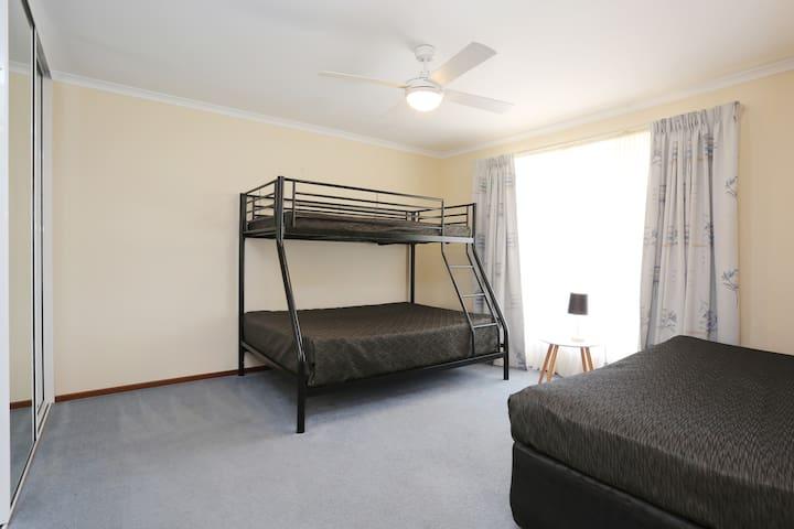 3rd Bedroom Single bed plus bunk