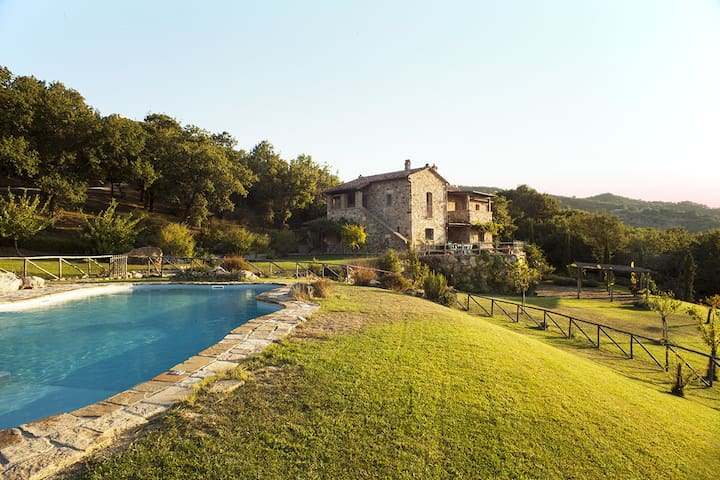 Luxury Villa Vignalunga,heated private pool - Castiglion d'orcia - Villa