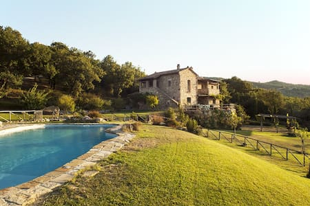 Luxury Villa Vignalunga,heated private pool - Castiglion d'orcia