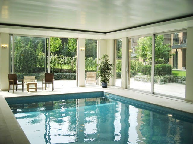 Luxurious apartment with pool, sauna and fitness